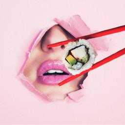 ircsushi sushi freetoedit mouth boca