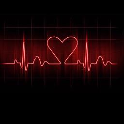 delete wallpaper heart blackandred red freetoedit