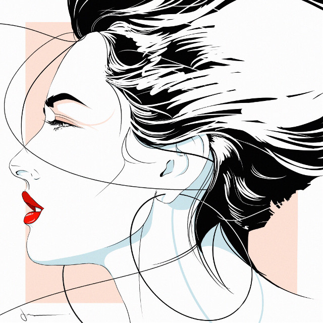 Patitz #punksy #artist #painter #illustrator #drawing #tatjanapatitz #artdeco #patricknagel #fashion #fashionart #fashionillustrator #moda #retrowave #80s #eighties #1980s