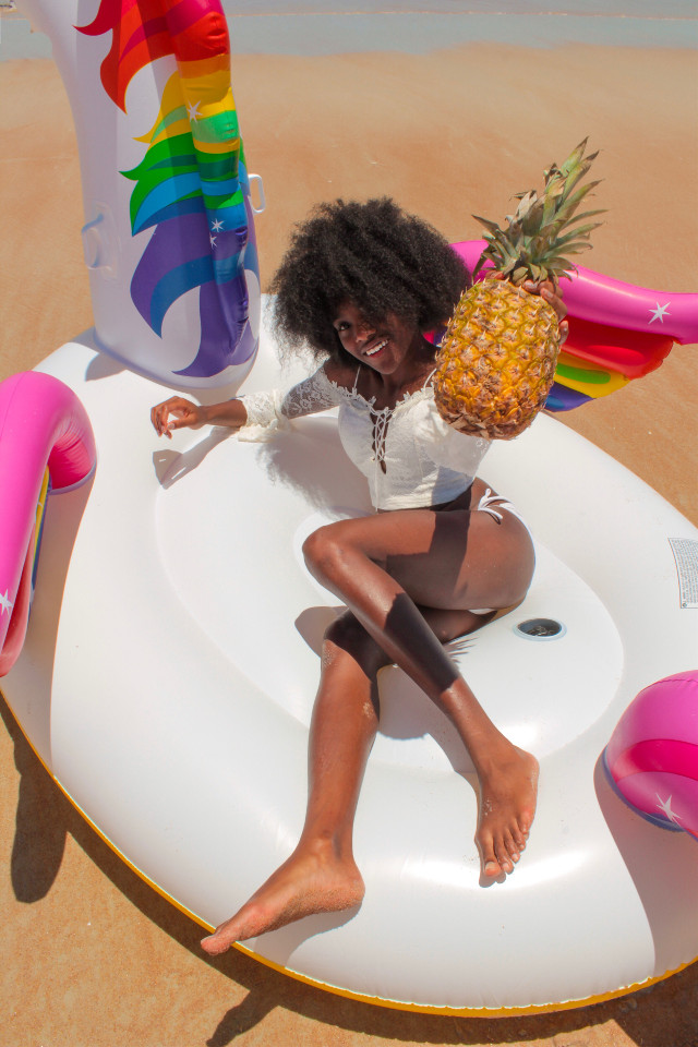 #fruit #summer #pinapple #freetoedit