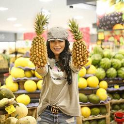 abacaxihum oqueéumabacaxi trofeu @supermercadovitoria pcfruitselfie fruitselfie