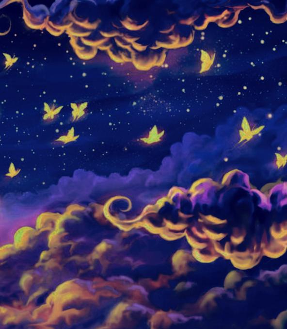 #free #butterfly #cloud