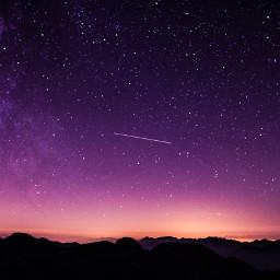 freetoedit meteor stars night galaxy lights