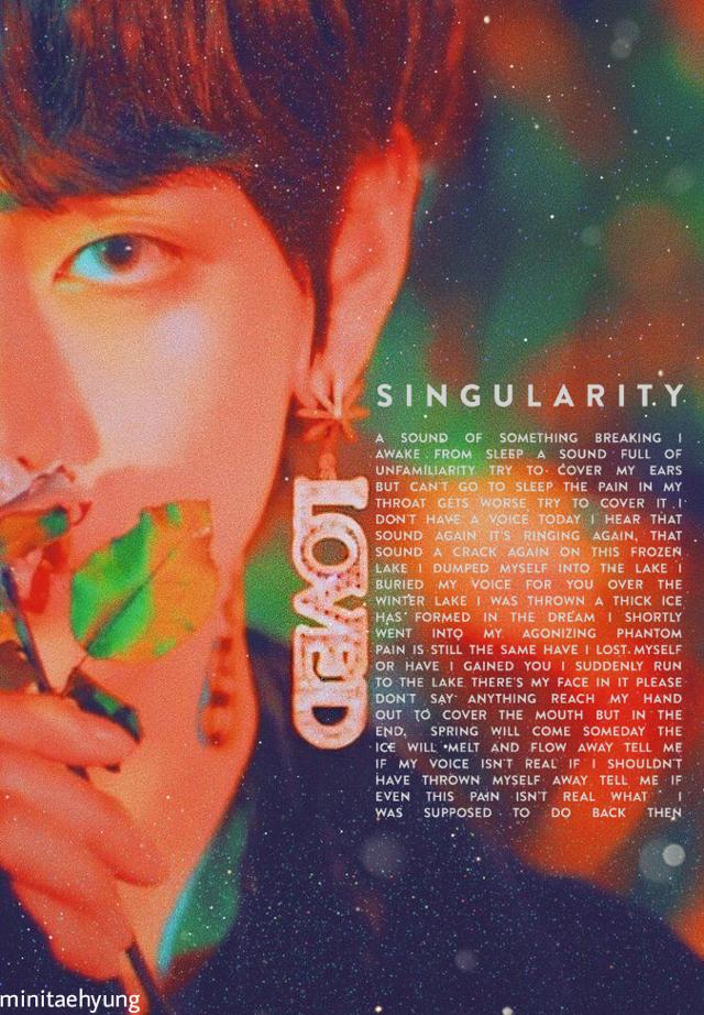 ... Singularity is a Masterpiece... #myedit#singularity #singularityv #kimtaehyung #taehyung #taetae #bias#oppa#loved#cute#handsome#bts#bangtanboys #bangtansonyeondan #kpop#kpopidol . . #miniTfam♥️#fozirshifam 🖤