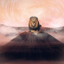 icyx icyxremix lion startrial vulcan freetoedit