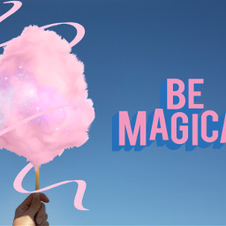 freetoedit cottoncandy bemagical scribble pink