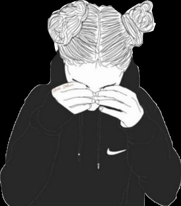 Tumblrgirl Tumblr Outlinegirl Outline Girl Drawing
