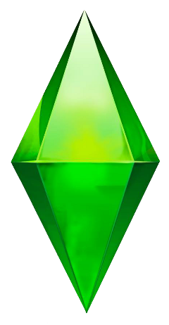 sims thesims plumbob crystal green