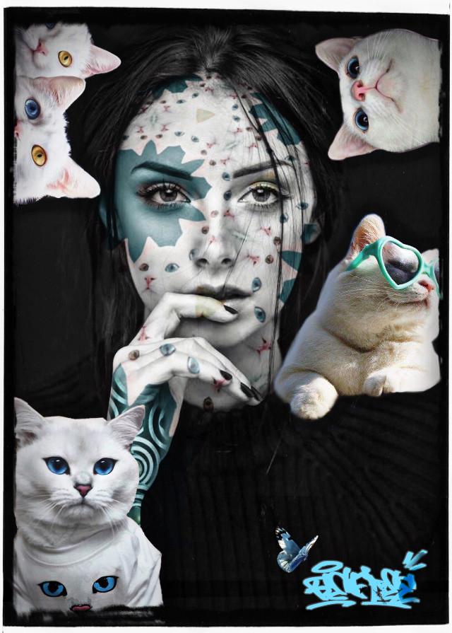 #freetoedit #befree #meow #awesome custom #graffiti stickers via @highryse_audio for free! 😺🖤
