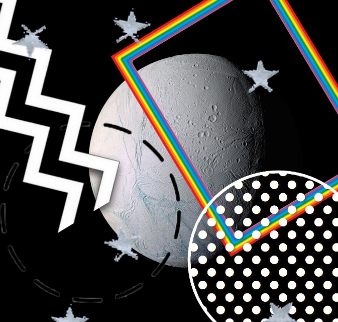 #freetoedit #geometric #moon #stars #shapes