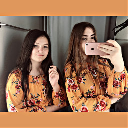 orange shopping mirror poland polishgirls