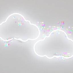 glitchbrush freetoedit glitch brush cloud