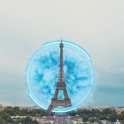 freetoedit paris expolosion circle blue