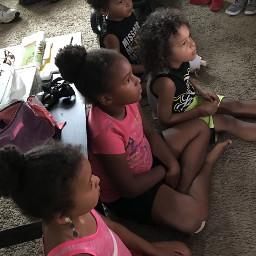 angels kids watchingtv