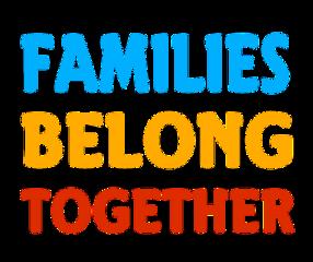 familiesbelongtogether family belong together text freetoedit
