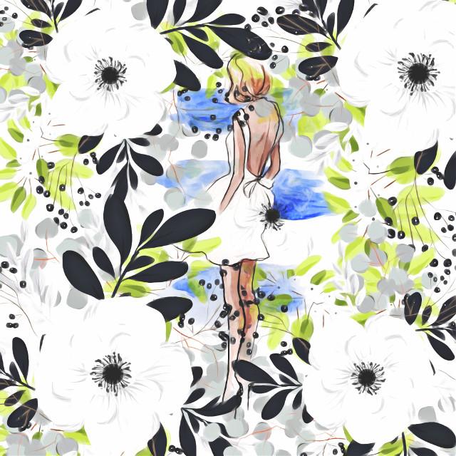 #freetoedit #flowers #blue