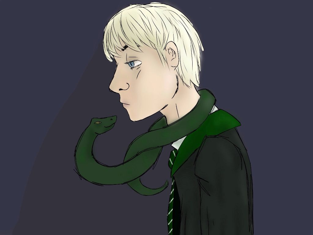 Draco Malfoy Time Taken To Draw 2 Hours I M Pretty Ha