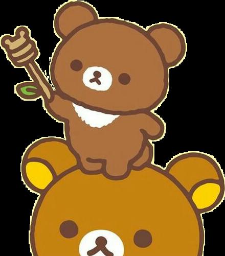 Bear kawaii. Freetoedit cute honey