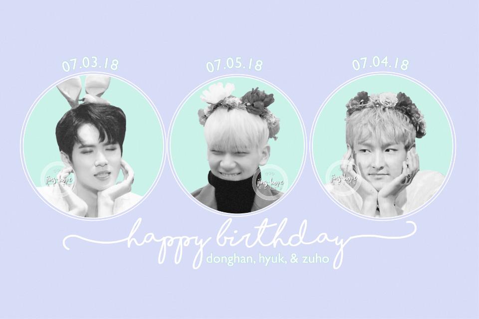 »happy laate birthday donghan, hyuk, and zuho!! —requests are closed!  ............ #jbj #kimdonghan #donghan #vixx #hyuk #sf9 #baekjuho #zuho #kpop #pastel #edit #kpopedit ............  [🌧] donghan photo cr: have in mind [🌧] hyuk photo cr: get it k [🌧] zuho photo cr: white sugar