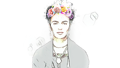 contrast frida the freetoedit srcfridaflowercrown