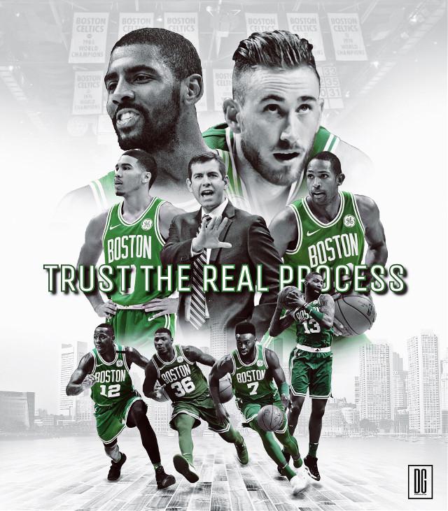 The real process? 🍀 #madewithpicsart #freetoedit #boston #usa #nba #basketball #picsart #art #artwork #design #today #saturday #sports #f4f #follow4follow