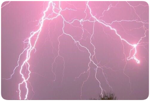 Pink Aesthetic Lightning Pretty Background Freetoedit