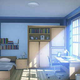 anime animeroom room house animehouse