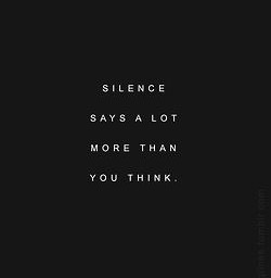 quotes silence remixit freetoedit black