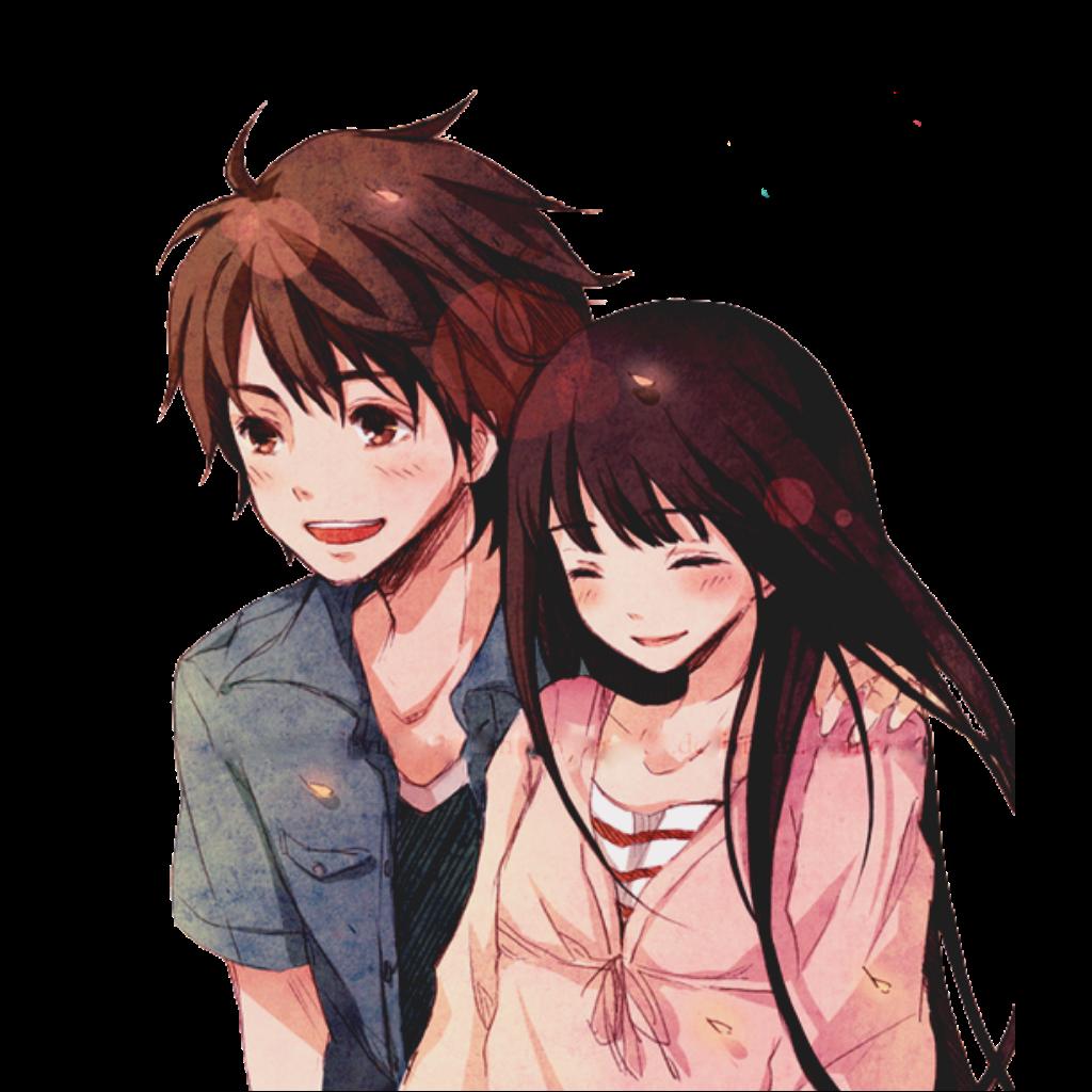 😍anime couple😍 sticker animelove animecouple animehug