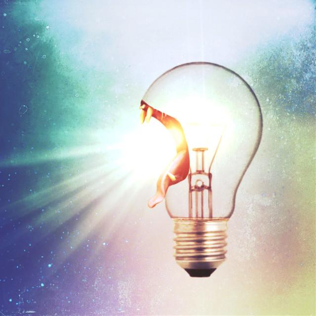 Dont just let your light shine. Let it ROAR! #freetoedit #letitroar #roar #lightbulb #letyourlightshine
