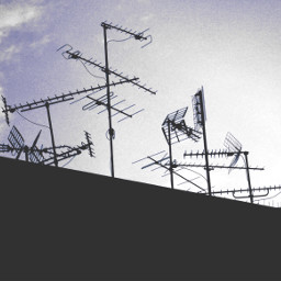freetoedit lateafternoon building rooftop antennas