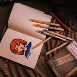 random late latepost drawing sketch