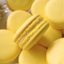 freetoedit aesthetic macaroons macarons yellow