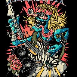 megadeth metalband metal toxic freetoedit