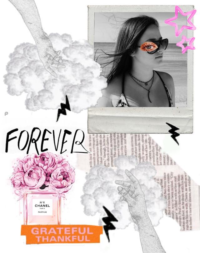 #freetoedit #forever #grateful #thankful #newspaper #collage #edit #bandw #blackandwhite #chanel