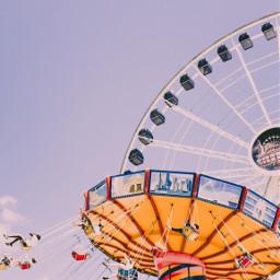 freetoedit fun themepark ferriswheel