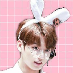 freetoedit bts jungkook btsjungkook bunny