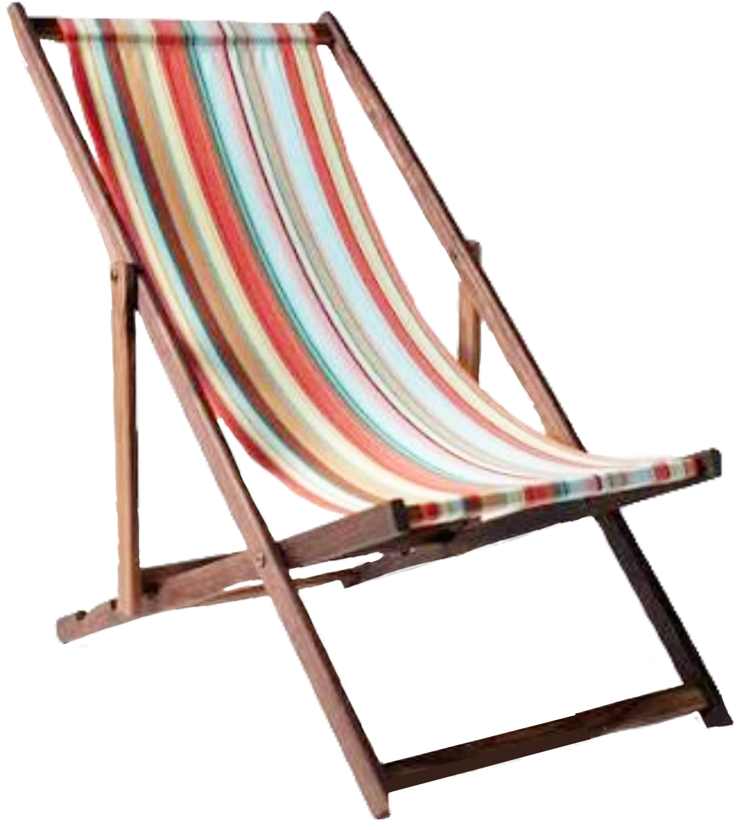 Chair Beach Beachchair Summer Wood Woodchair Ftesticker