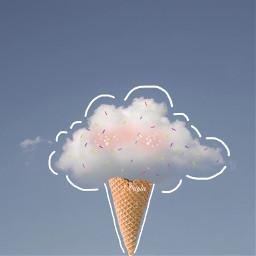 icecream sprinkles shine freetoedit