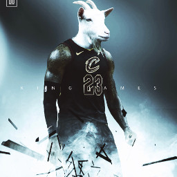 madewithpicsart freetoedit goat usa nba