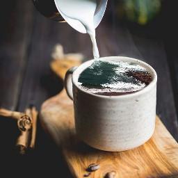 wave manipulation freetoedit coffee milk