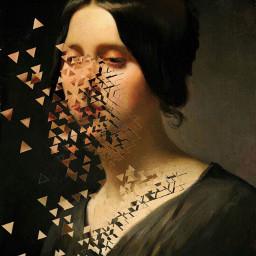 art artcollage shatter broken gallery freetoedit