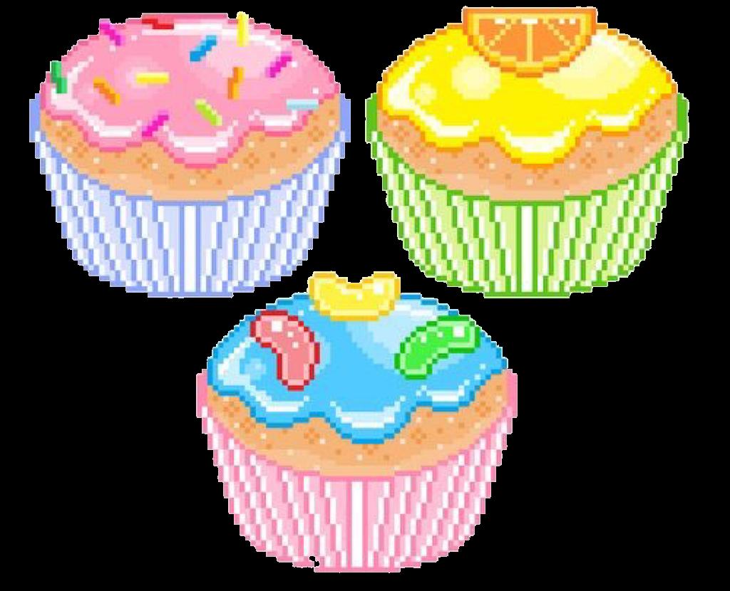 Kawaii Sticker Cupcakes Cupcake Kawaiisticker Kawa