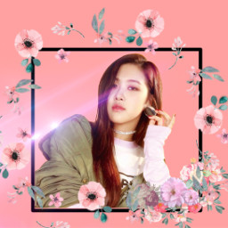 ros blackpink kpop chaeyoung freetoedit