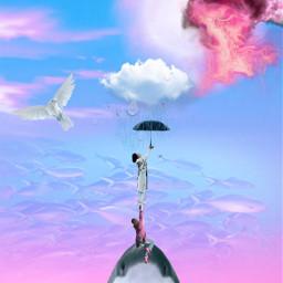 freetoedit dailyremixmechallenge dailyremix picsart shark ircblackumbrella