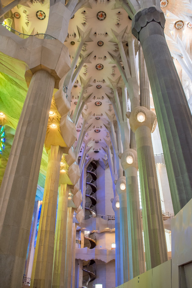 Have you been to La Sagrada Familia? If you have, you will know that feeling, as soon as you walk up to the church, you are left speechless. #gaudi #barcelona