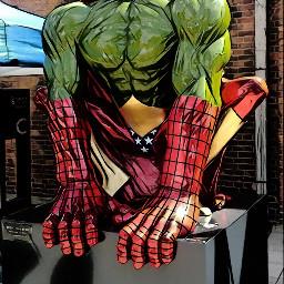 freetoedit comicbook comicbookjunkie scultpure