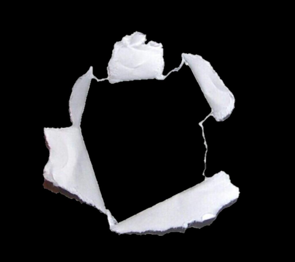 hole tear paper frame niche white whitetheme whiteaesth...