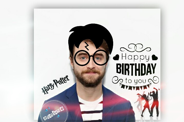 #freetoedit #harrypotter #happybirthday #myedit #myart #cute#smile #happy#people #madewithpicsart