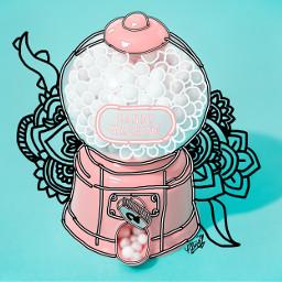 mandalas pink art irccandymachine candymachine freetoedit